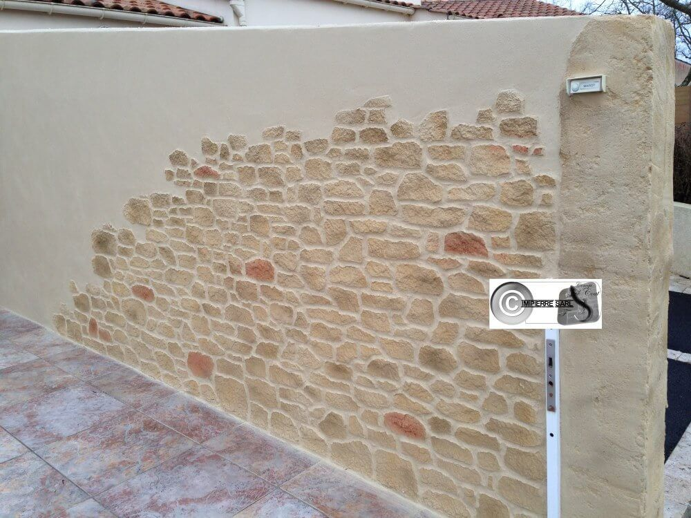 Decorez Vos Murs Exterieurs Et Cloisons Interieures Le Savoir Faire Imipierre Un Gage Briquette De Parement Enduit Mur Exterieur Peinture Mur Exterieur