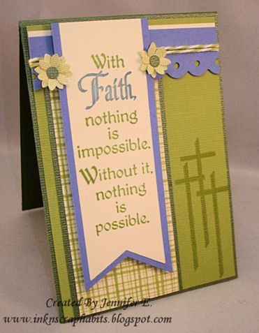 WT420 - With Faith by fief14 - Cards and Paper Crafts at Splitcoaststampers
