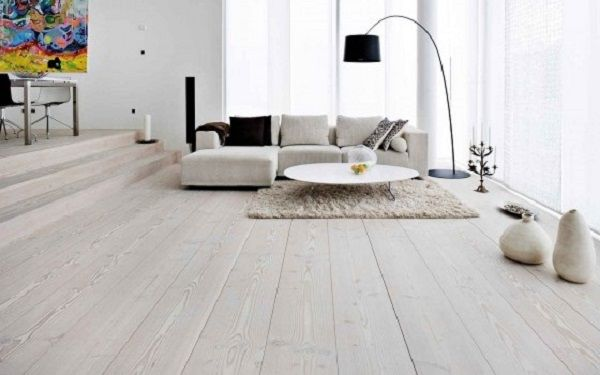 White Ash Wood Floor