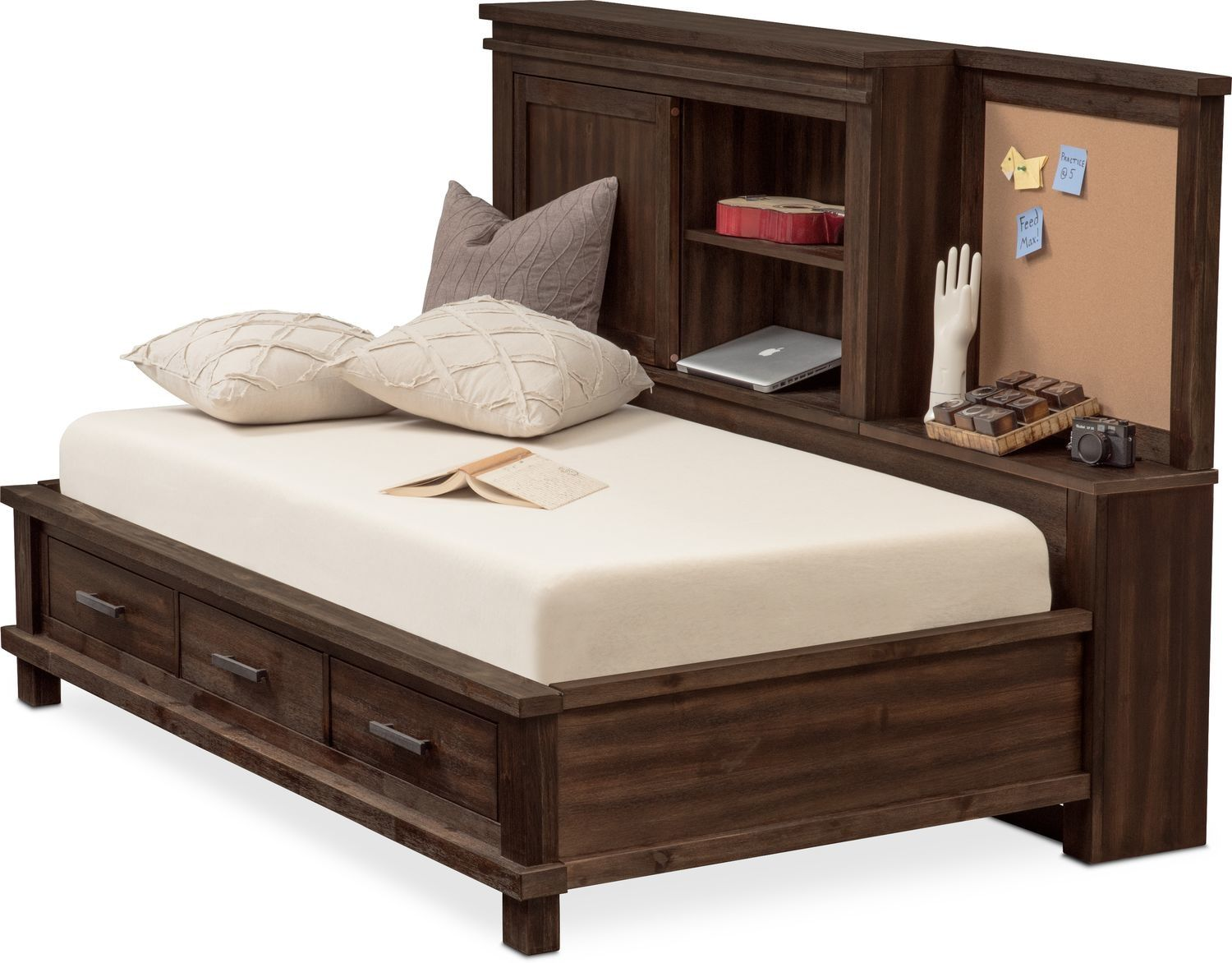 Tribeca Lounge Storage Bed Value City Furniture Furniture Storage Bed