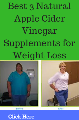 Best 3 Apple Cider Vinegar Supplements for Healthy Weight Loss