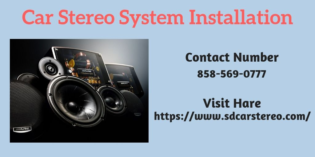 San Diego Car Stereo Are The Car Audio Installation Experts In San