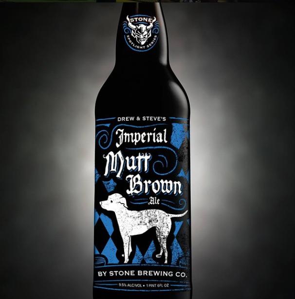 Stone Steve Via Drew Neldon S Imperial Mutt Brown Ale Brown Ale Stone Brewing Beer Design