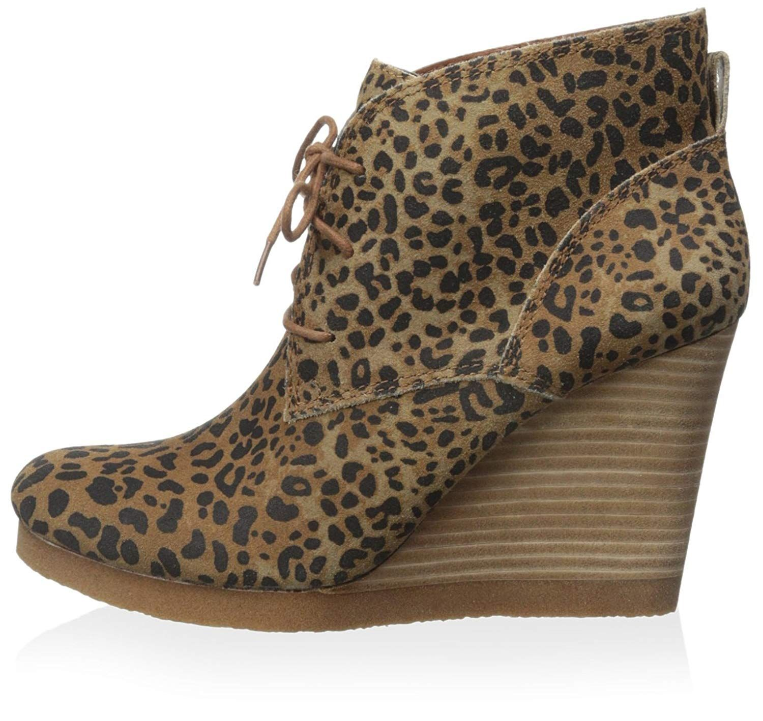 7273f6e18cc6 Lucky Brand Women s Tahiti Wedge Bootie    Click on the image for  additional details.