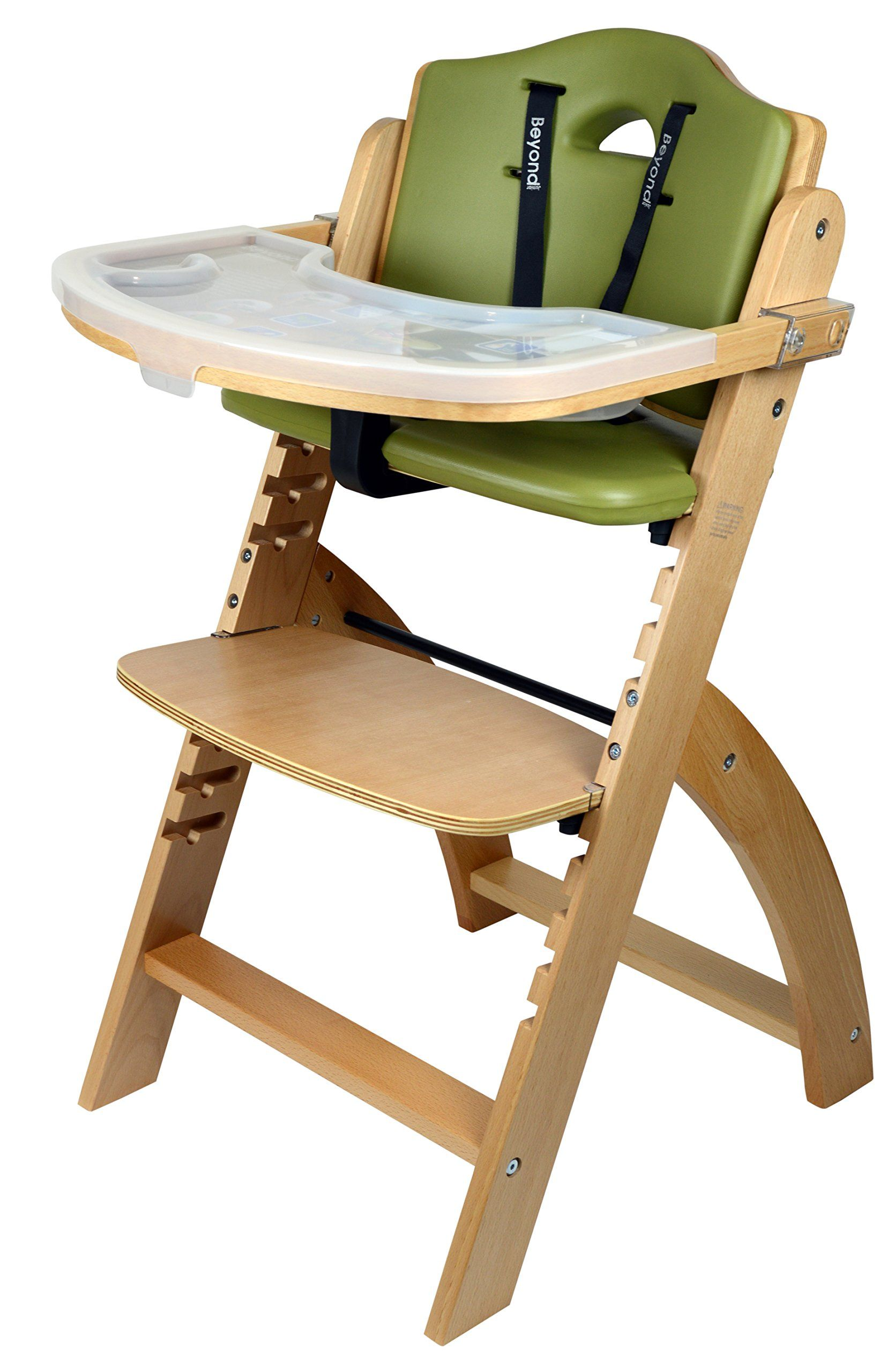 Abiie Beyond Junior Y High Chair, Natural