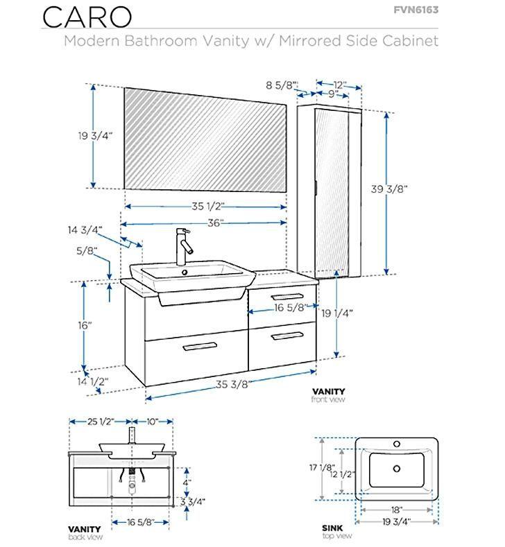 Standard Bathroom Cabinets Sizes Bathroom Dimensions Bathroom