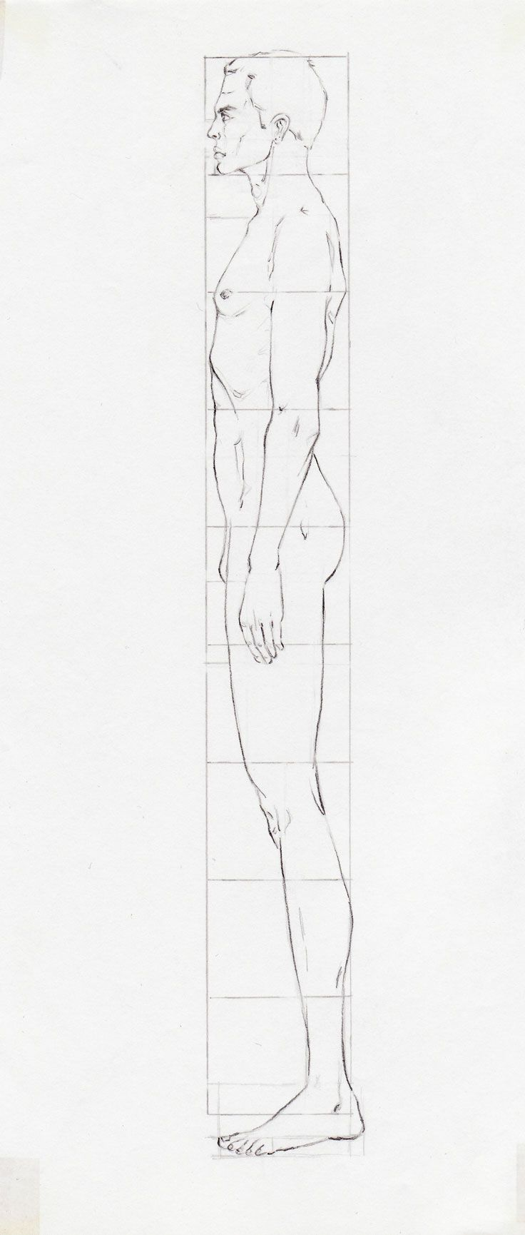 Practice sheet for learning to draw male models/ fashion ...