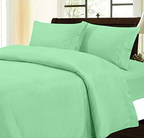 Amazon Com Hothaat New Collection 300 Thread Count 4 Piece 9 Deep Pocket With Pole Attachments Waterbed Sheet Set In So Sheet Sets Water Bed Coloring Sheets