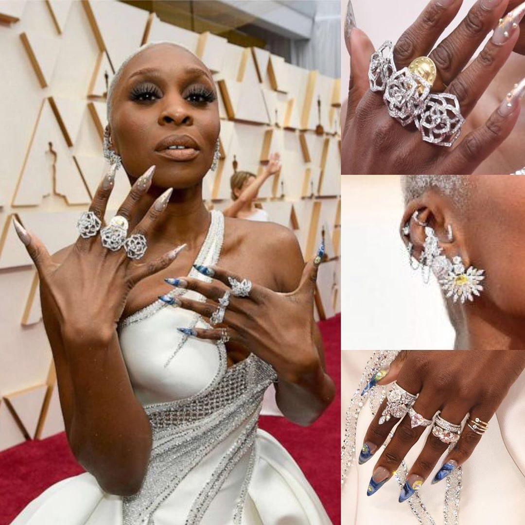 @theacademyawards.oscars #oscars2020 #jewelry #fashion #fashionblogger #highfashion #drippingindiamonds #blingbling #styleinspo #style #sparkly #glitzandglam #redcarpetfashion
