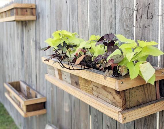 Vertikale Holz Pflanzerkasten Hängenden Gartenarbeit Box Hängen