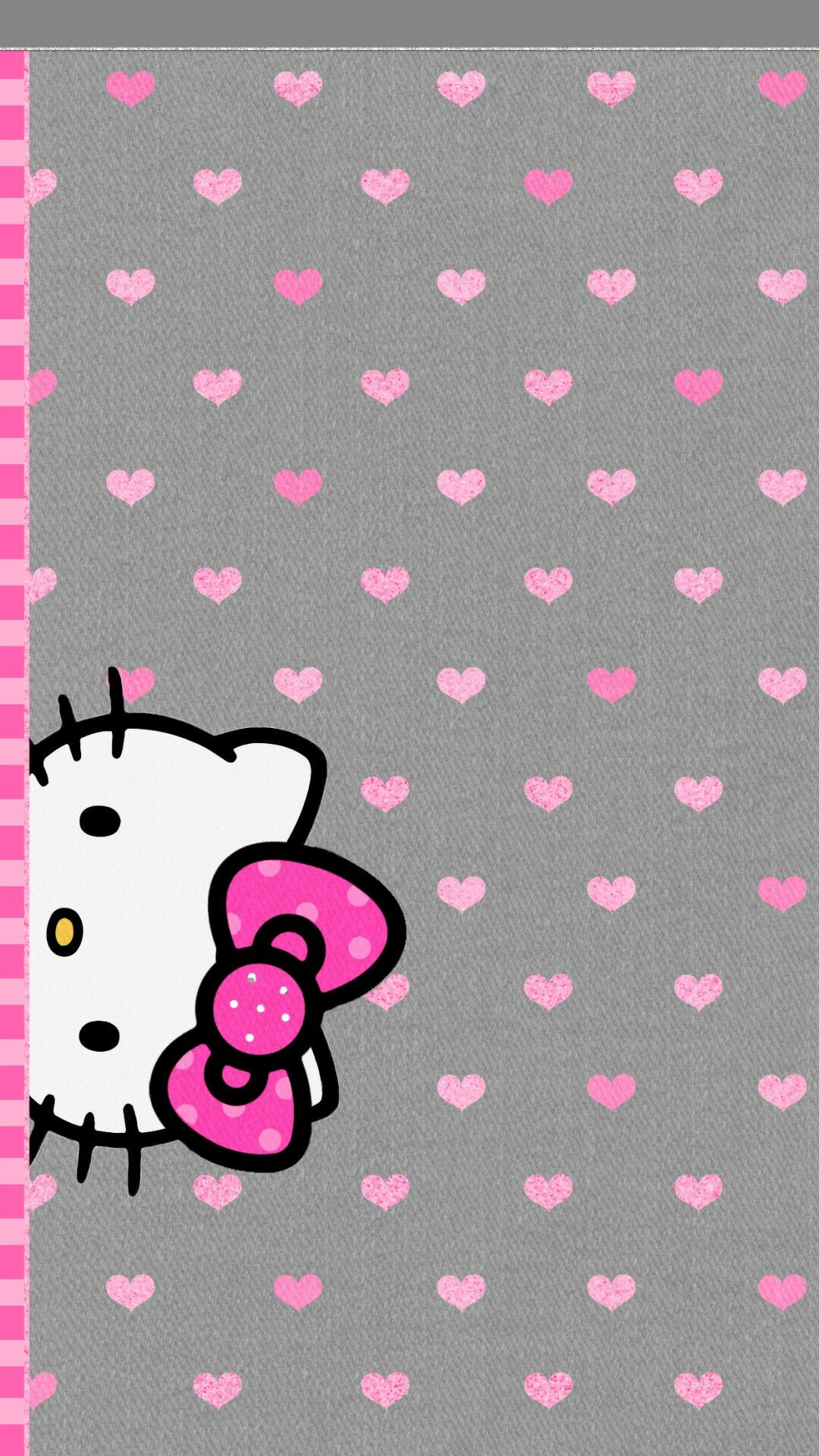 Black Hello Kitty Cute iPhone Wallpapers  iPhone