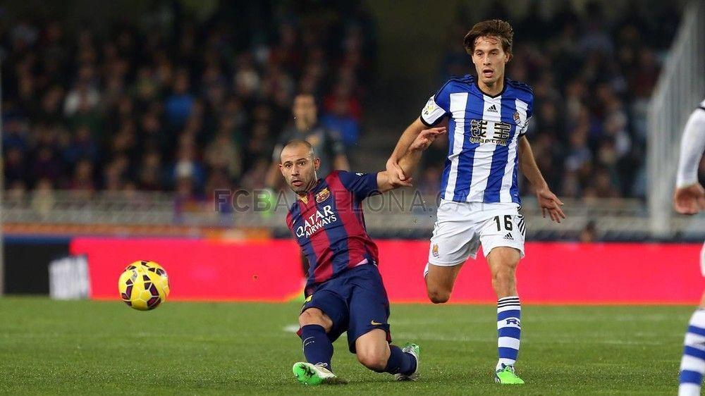 Real Sociedad - FC Barcelona (1-0)   FC Barcelona