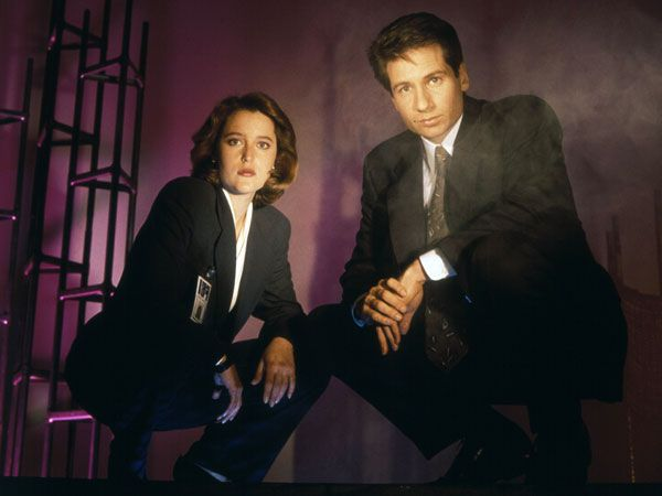 """The 50 Greatest Sci-Fi TV Shows Ever The X-Files Why do we watch science fiction? Because we want to believe! For nine seasons starting in 1993, Fox Mulder and Dana Scully battled monsters of the week and trudged their way through a confounding """"mytharc."""" And they left us humming the world's catchiest theme song as they did it."""