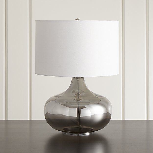 Liza table lamp crate and barrel