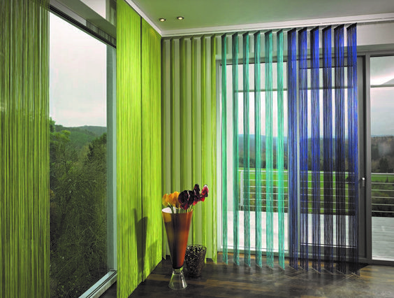 Simple Sliding Door Covering Ideas For Your Hous