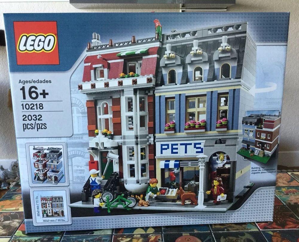 LEGO Creator Pet Shop (10218) RARE SEALED NEW RETIRED