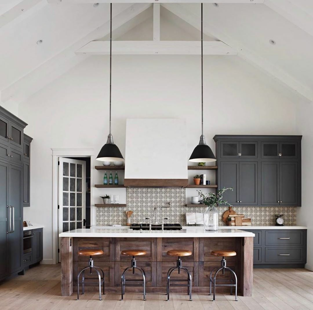 The Perfect Scandinavian Style Home Rustic Farmhouse Kitchen Industrial Kitchen Design Kitchen Inspirations