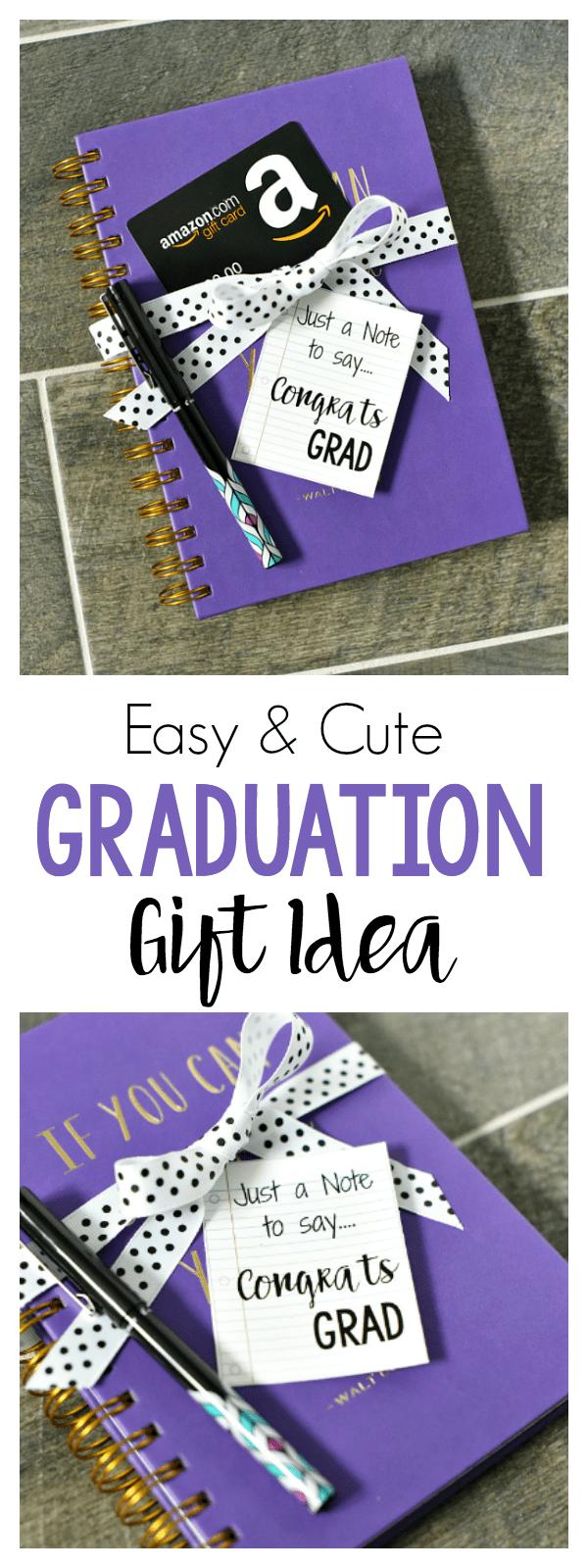 Easy Graduation Gift Idea – Fun-Squared