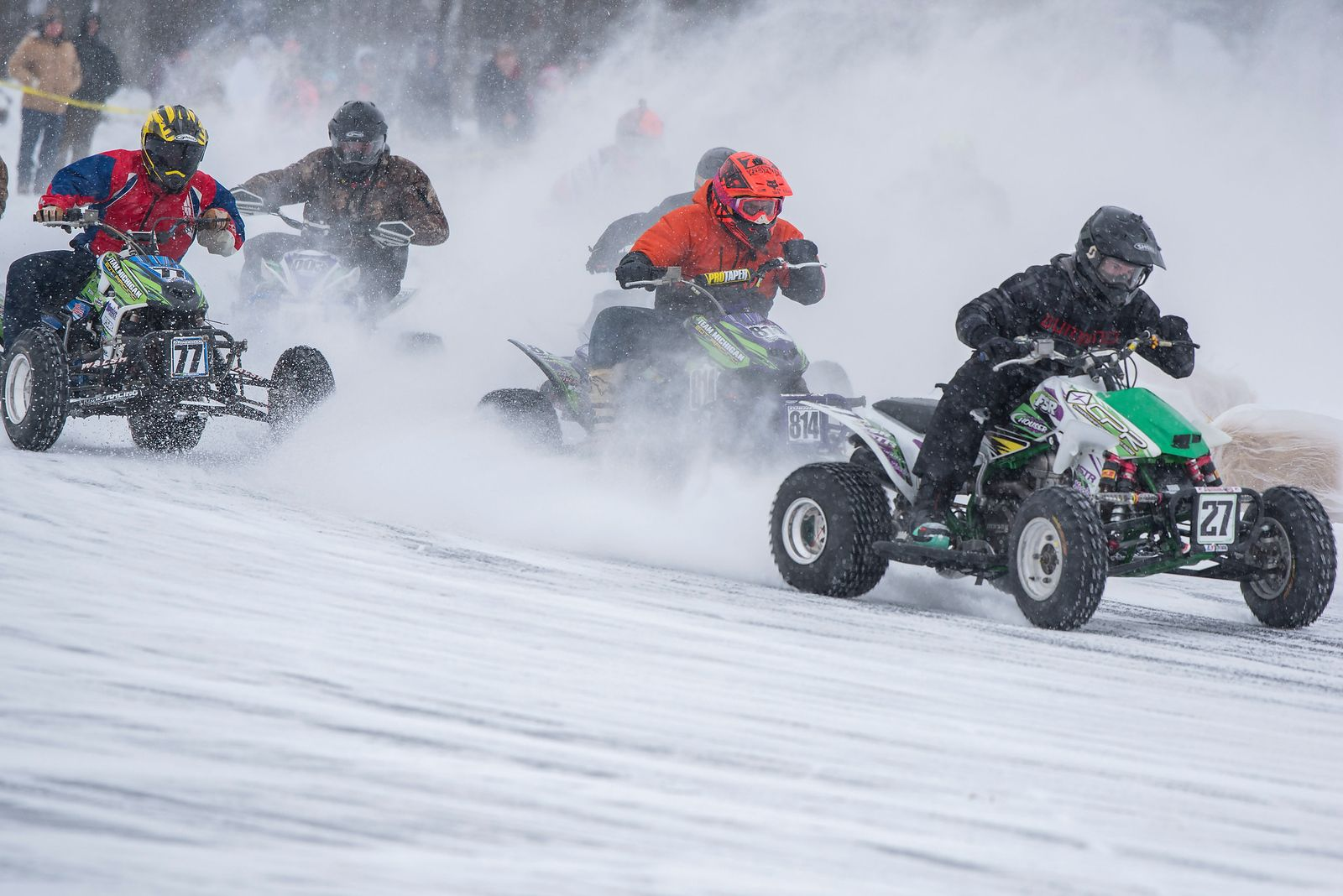 2020 Ama Atv Ice Race Grand Championship Takes Place Feb 16 In