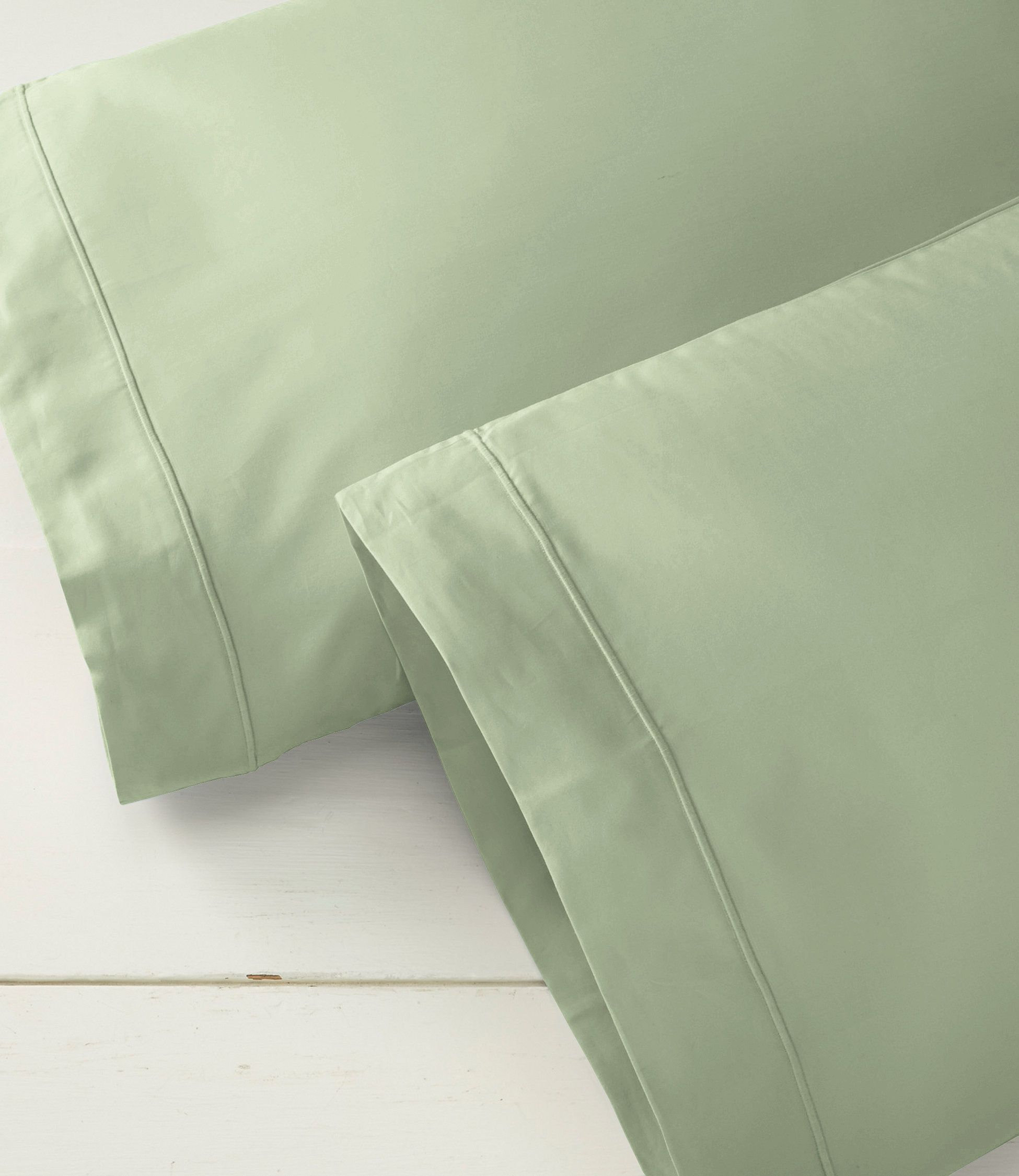 340-Thread-Count Cotton Sateen Pillowcases