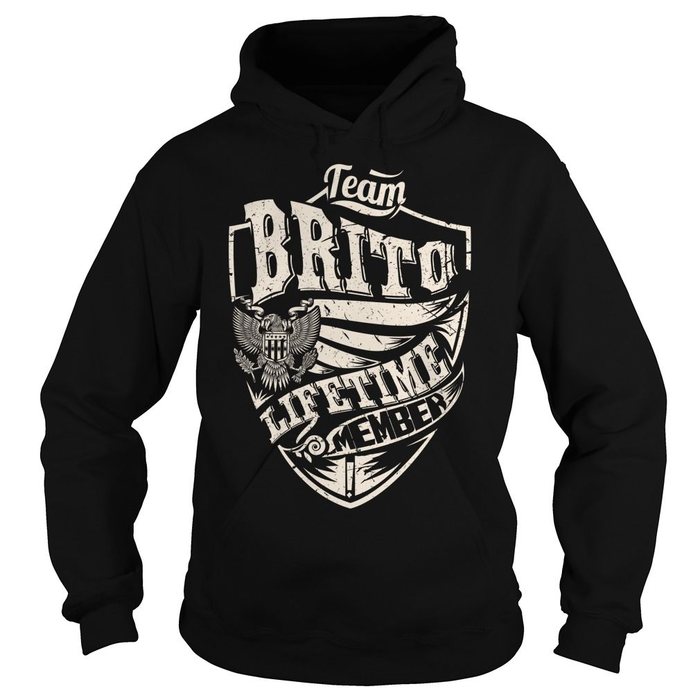 Last Name, Surname Tshirts - Team BRITO Lifetime Member Eagle