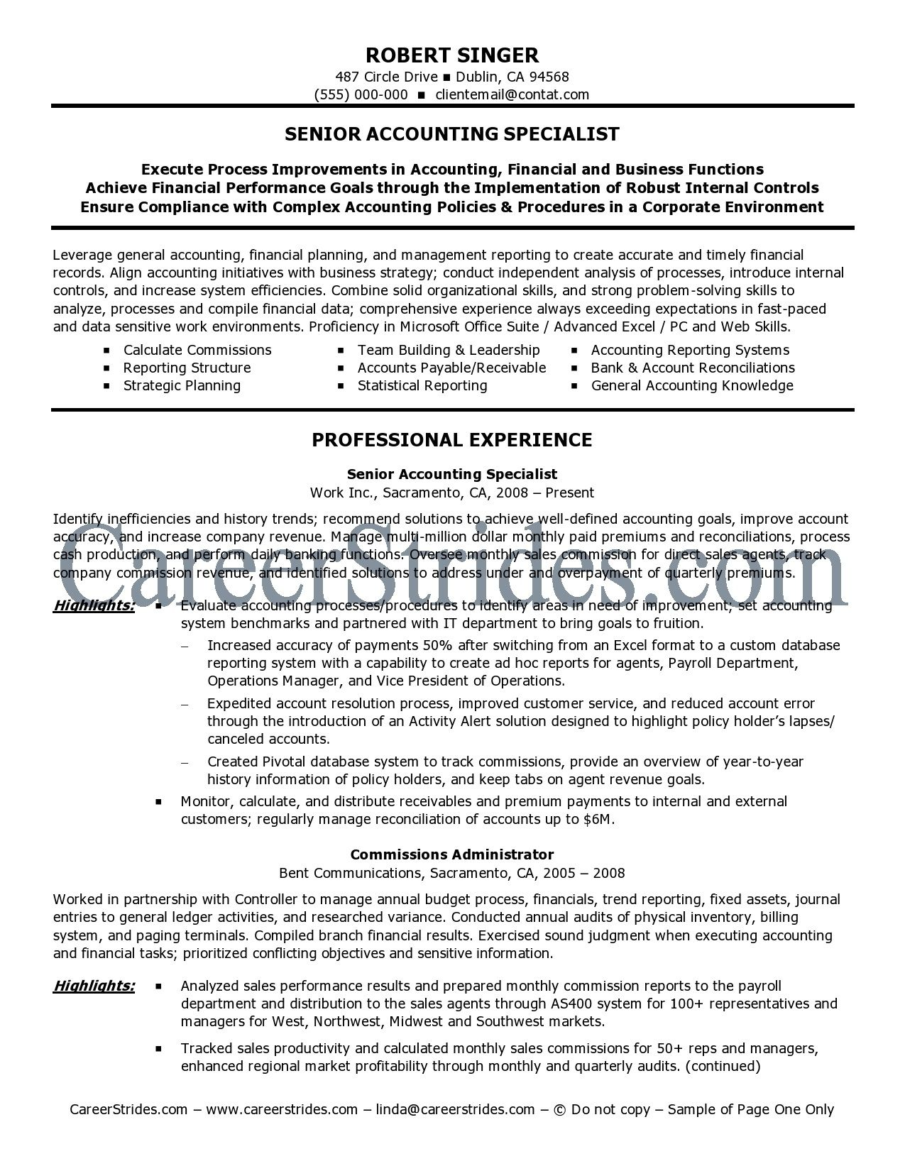 As400 Administrator Sample Resume Glamorous Brilliant Ideas Of Sle Resume For Corporate Accountant  News To Go .