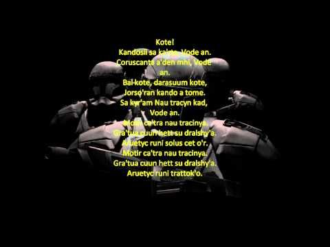 Vode An --lyrics everybody should know. :P | Star Wars ...