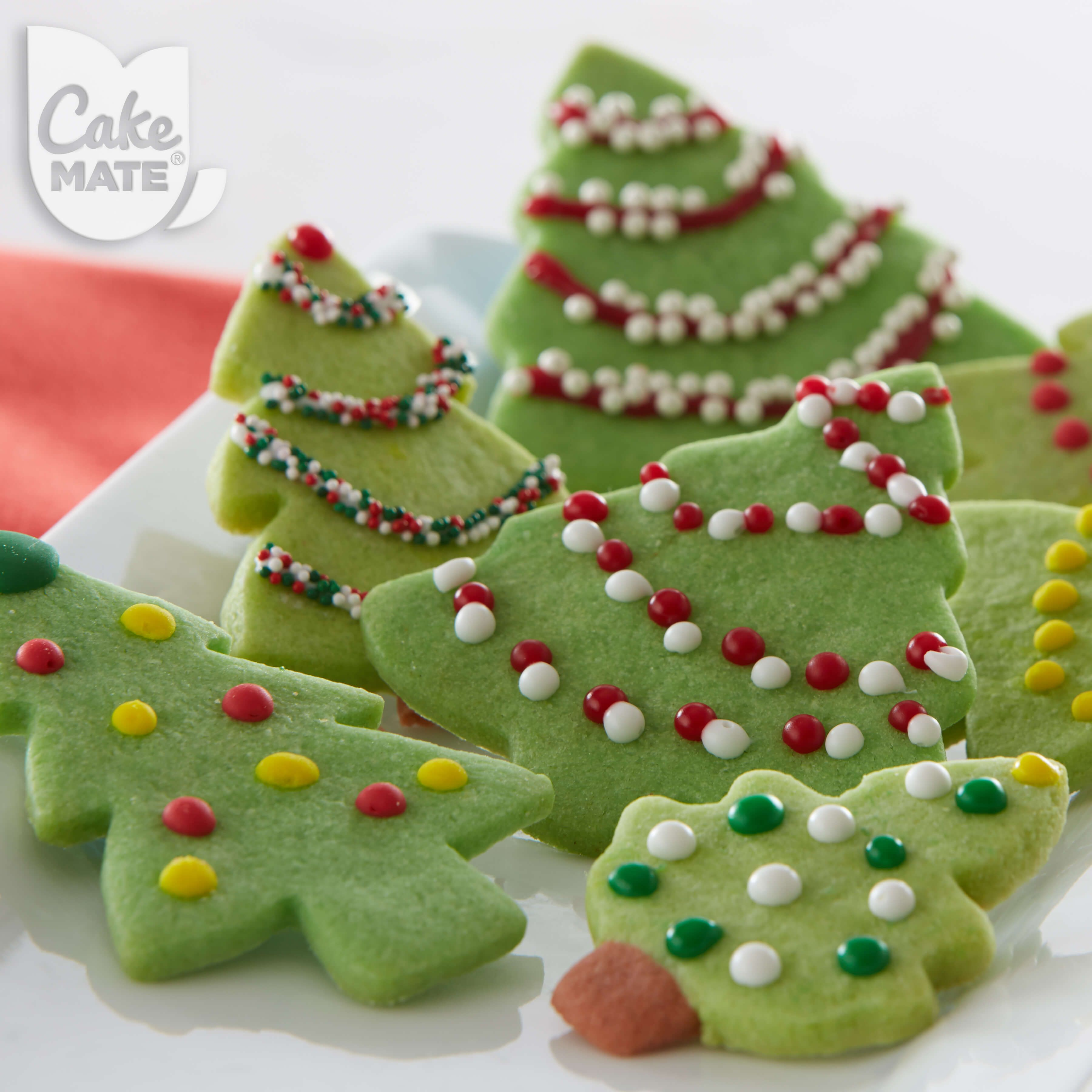 Christmas Tree Holiday Cookies Ingredients 12 Tree Shaped Sugar