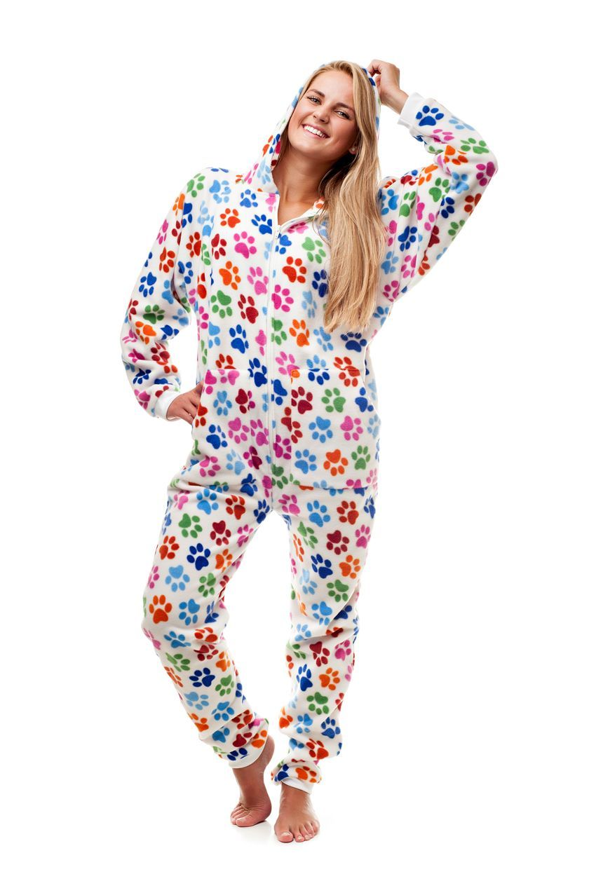 839f71720b Dog Pawz Go-Jamz Adult Jumpsuit via Kajamaz  Footed Pajamas and Jumpsuits  For Adults. Click on the image to see more!