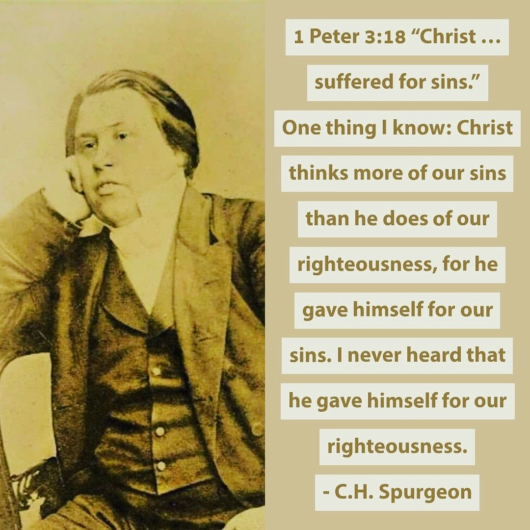 Pin on Charles H. Spurgeon