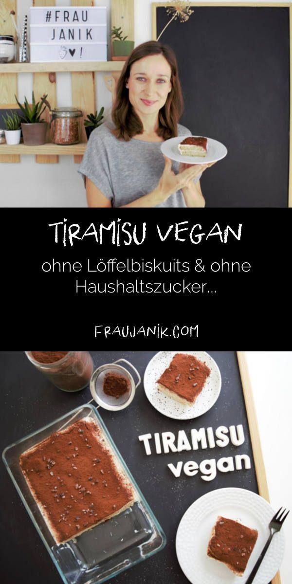 Tiramisu vegan - Frau Janik