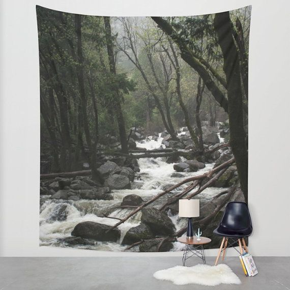 Foresthills Bedroom Large2: Yosemite National Park Wall Hanging, California Forest