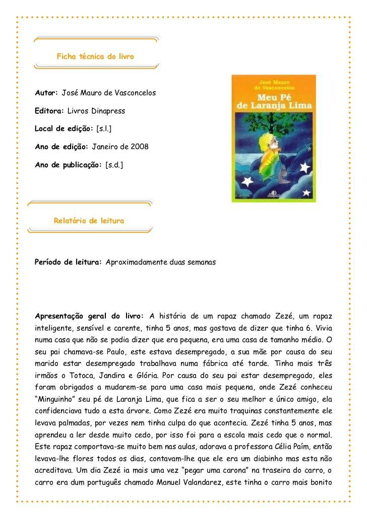 Ficha técnica do livro 1000125173990 Autor: José Mauro de