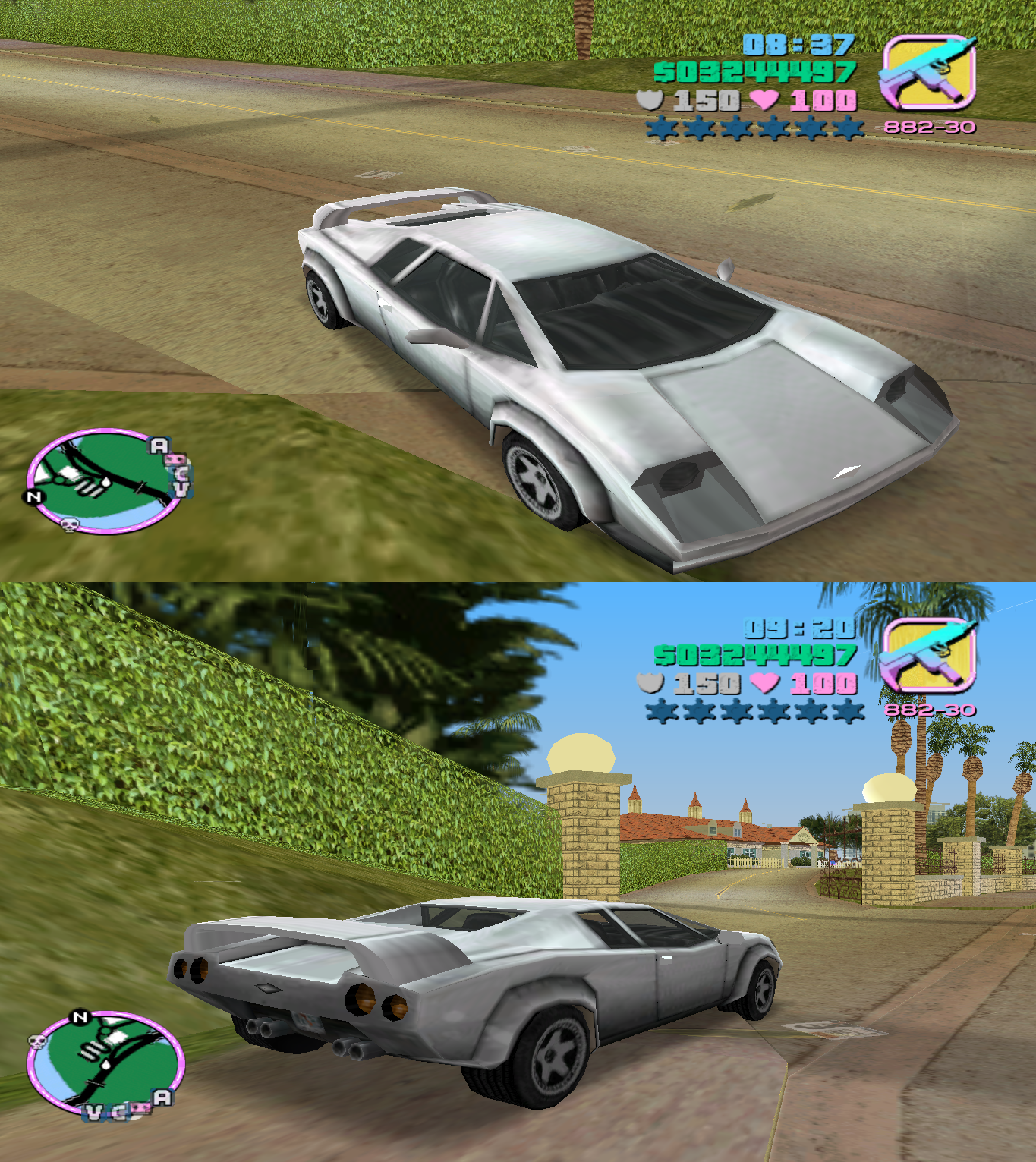 Gta Vice City Cars Infernus Vice City Cars City Car Toy Car