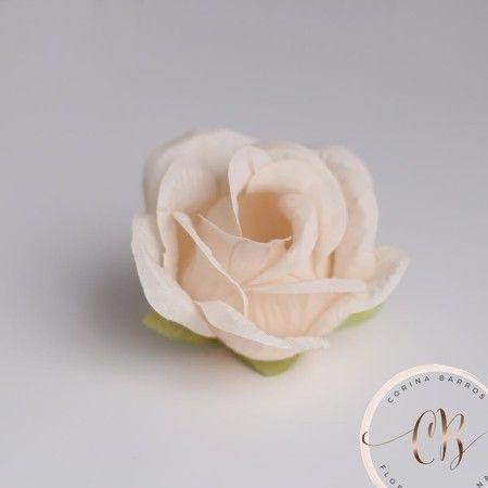 Rosa - forminha para doces finos em tecido (50 unidades)