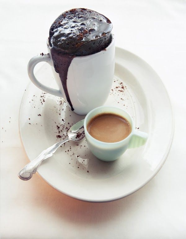 Gluten-Free Chocolate Mug Cake (Cranberry Deer) | Mug ...