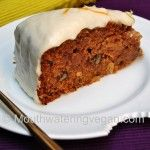 Delicious, Moist Carrot & Ginger Cake with a Mouthwatering Frosting