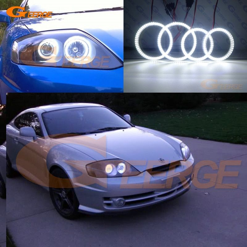 Cheap Angel Eyes Halo Buy Quality Led Angel Directly From China Angel Eyes Suppliers For Hyundai Tiburon 2003 2004 200 Hyundai Hyundai Tiburon Led Angel Eyes