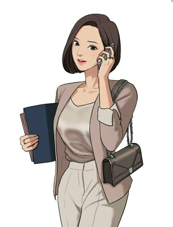 Heekyung Lim (?) from WEBTOON True Beauty/The Secret of Angel by