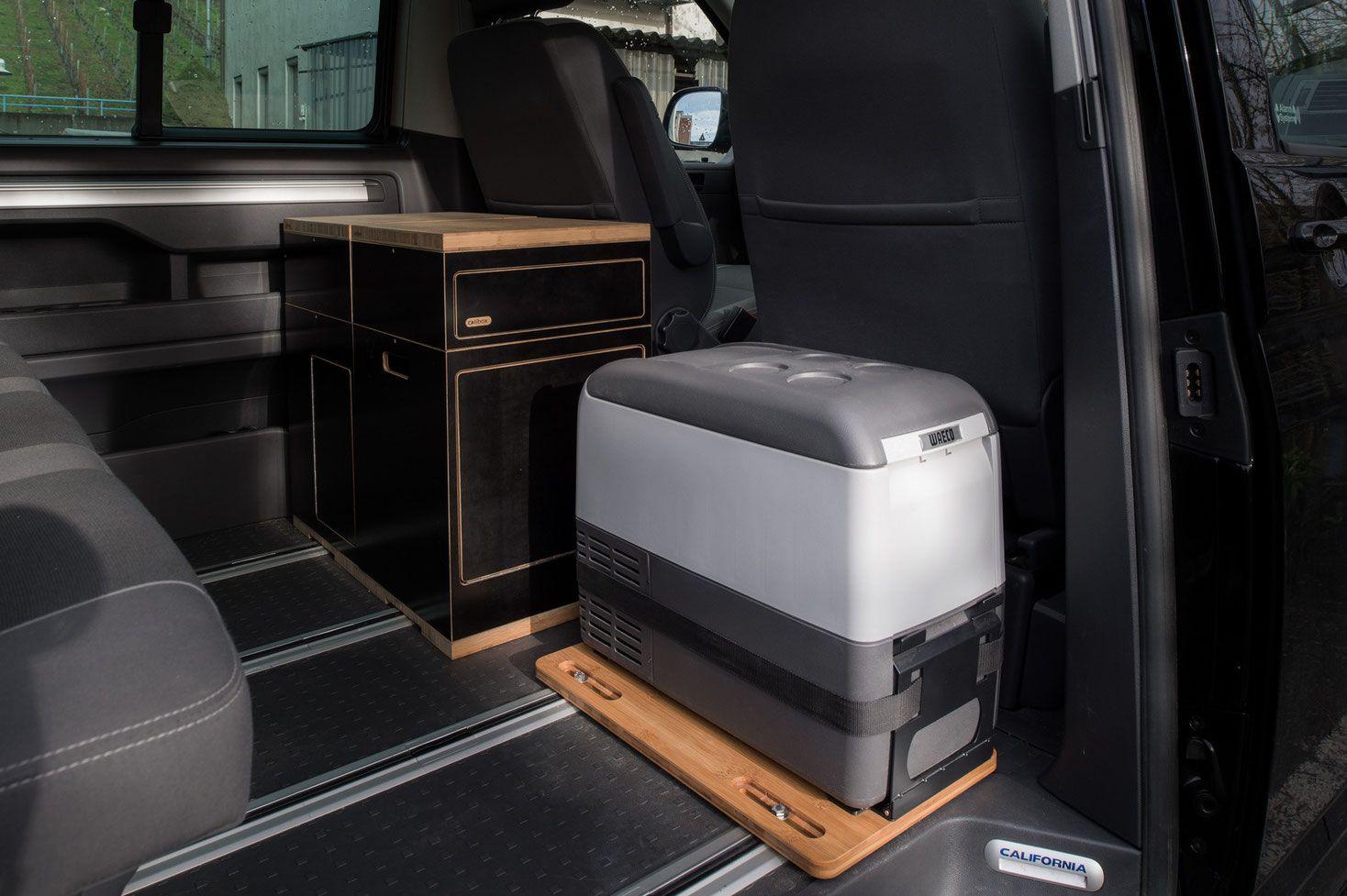 Auto Kühlschrank Selber Bauen : Befestigung an bodenschiene kühlbox waeco cdf 25 cdf 26 vw bus