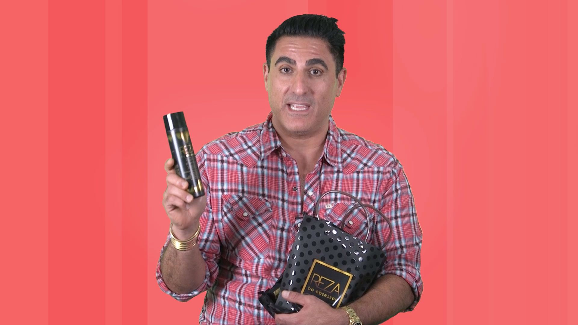 Reza Farahan's Haircare Line All Started with a Visit to