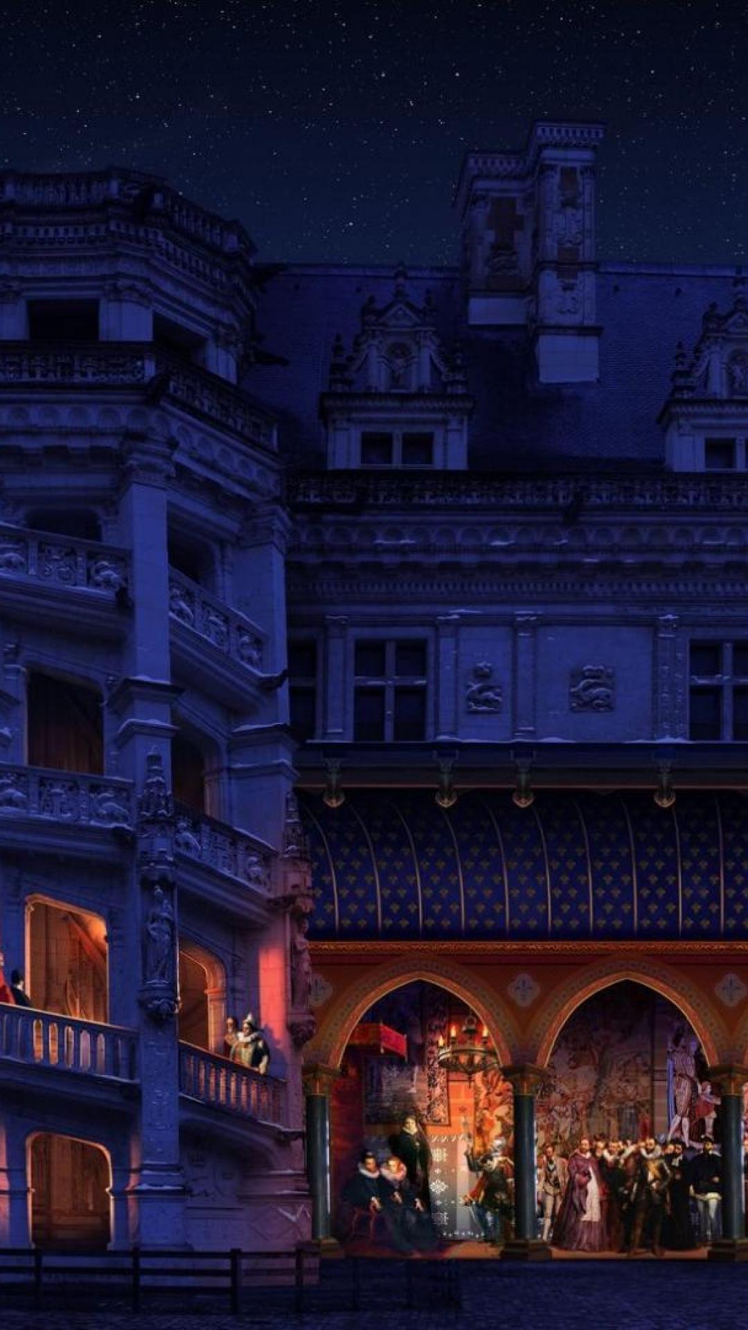 Küchenbar design-viertel nuevo espectáculo nocturno en el castillo real de blois valle del