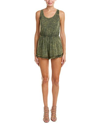 2f84e58abe0 Yfb On The Road Womens Ybf On The Road Rumba Romper S Green     To ...