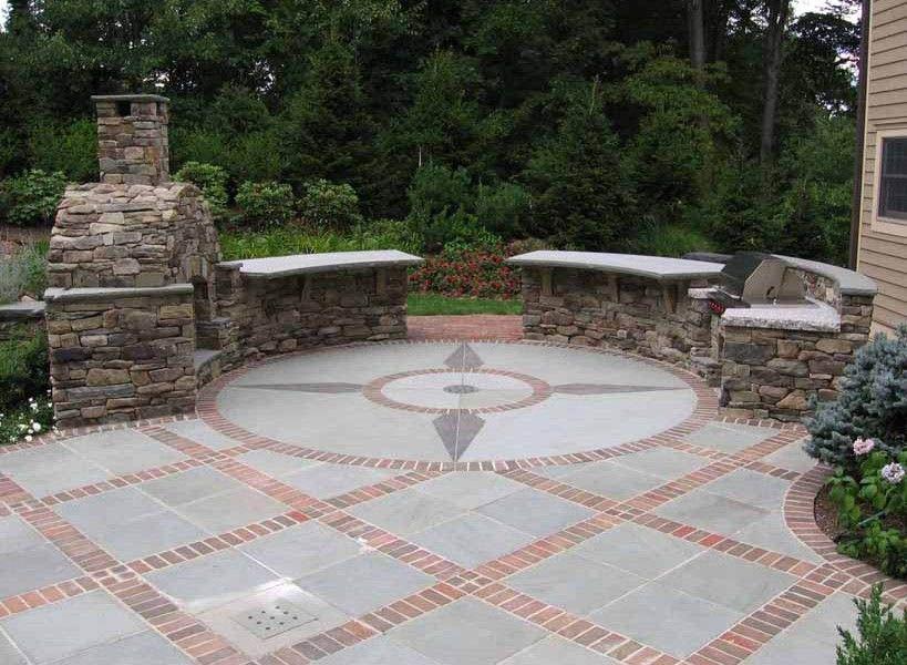 Perfect Patio Paver Design Ideas Brick Patios Backyard Patio Designs Paving Stone Patio