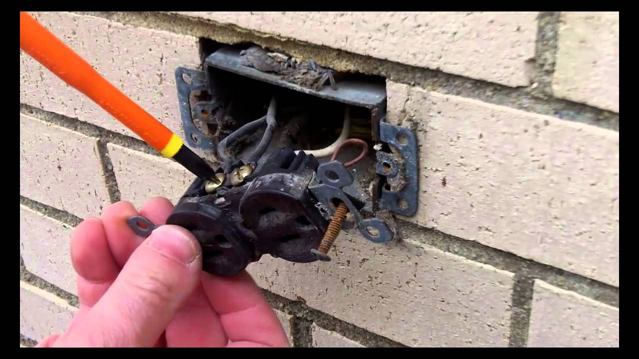 Gfci Repair Circuit And Afci Electrical Diy Chatroom Home Improvement Forum Outdoor Outlet Installation Part Tutor Youtube 1280x720