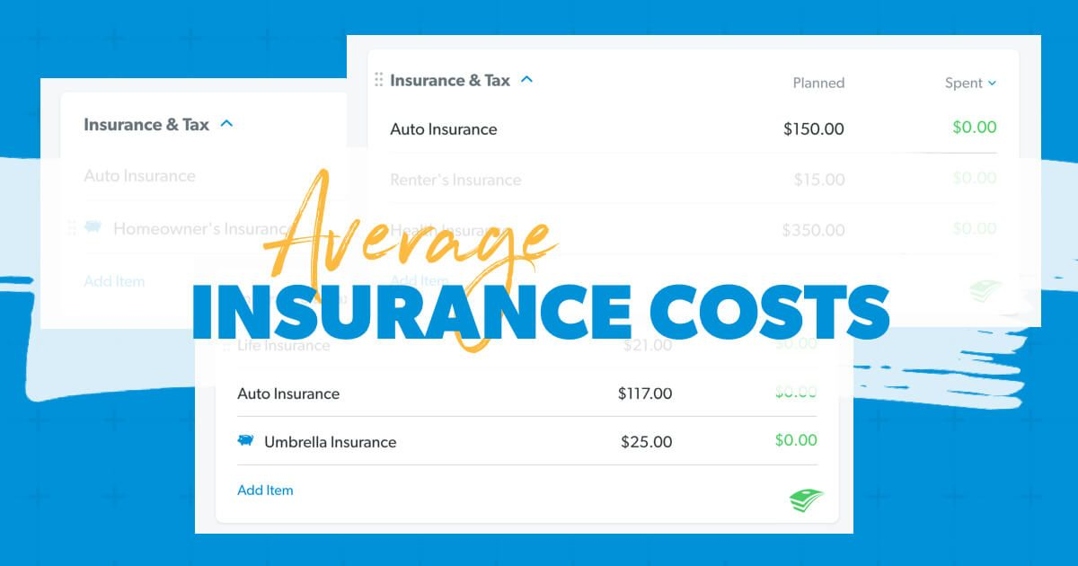 How Much Does the Average Person Pay for Insurance? in ...