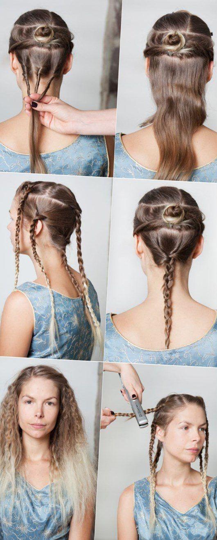 Lockige Frisuren Zum Selber Machen Stylehaare Info 327