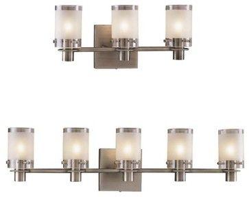 Bathroom Vanity Lighting Lumens 5000 series bath bargeorge kovacs - contemporary - bathroom