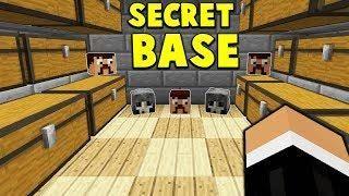 SECRET HEADHUNTING STORAGE BASE Minecraft FACTIONS - Minecraft factions spielen