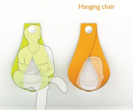 Chairs Without Legs By Yuri Kim